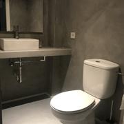 Revstimiento de paredes y encimera de baño con Microcemento