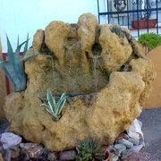 Roca, agua, crasas