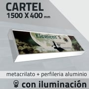 Rotulo luminoso / Cartel luminoso / Rótulos luminosos 1500 x 4000