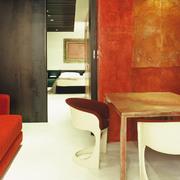 rojo mural