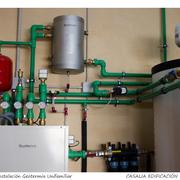 Sistema de calefacción por captación geotérmica