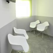 Sala de espera reformada, estado final