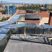 Distribuidores Saunier Duval - Extracción garaje urbanización Atalayas