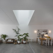 Salón con lucernario
