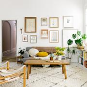 Salón con vegetación
