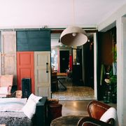 Salón de estilo retro