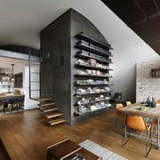 salón de un loft