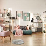 Salón en rosa