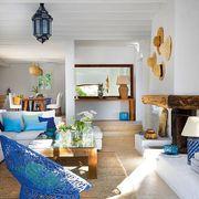 Salón estilo mediterráneo