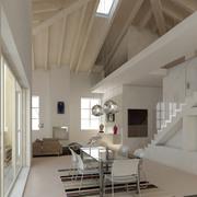 SALONES Y COMEDORES varios proyectos - Diseño de interiores 3D.