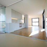 Separa ambientes con paneles y puertas de cristal ideas - Tabiques separadores de ambientes ...