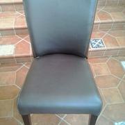 Cambiar trenzado de sillas por piel