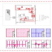Distribuidores Otis - Proyecto de instalaciones de bloque de viviendas en Madrid