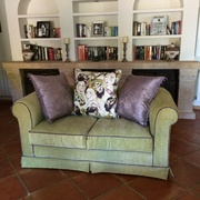 Sofa 2 Plazas Verde