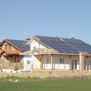 Instalación FTV y térmica para casas bioclimática