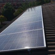 Excelente instalación sobre tejas