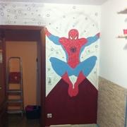 Pintar habitación juvenil, Spider-Man