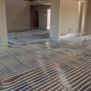 Instalación de suelo radiante con Aerotermia en Zurita (Cantabria)