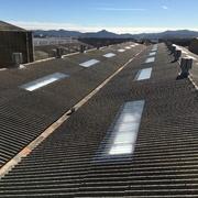Sustitución de lucernarios en Nave Industrial 3.000M2.