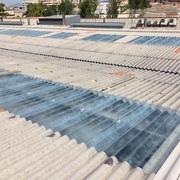 Sustitución de lucernarios en Nave Industrial 5.500M2.