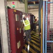 Trabajos electricos en cuadros industriales