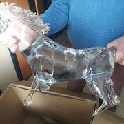 Tasación de un caballo de cristal de Murano