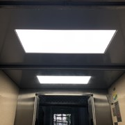 Techo con plafón led integrado