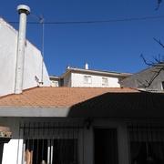 Tejado de teja en c/Antón 3 de Moralzarzal