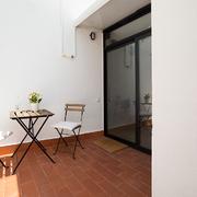 Terraza estilo rústico