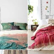 texil colorido dormitorio