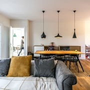 Tiana House: una casa abierta y alegre