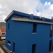 rehabilitación y pintura edificios moderno