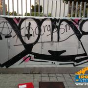 Eliminación de grafitos con productos de EcoDiseño