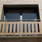 Ventana balconera corredera fachada