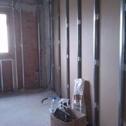 Tabiqueria de  pladur en edificio de viviendas