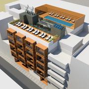 Eco-hotel urbano