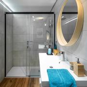 Vista de la ducha