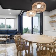 Vista del salón-cocina-comedor