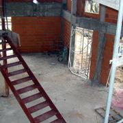 Vista del salon desde primera planta.