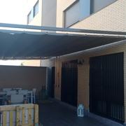 Pérgola para terraza-patio en Paracuellos del Jarama