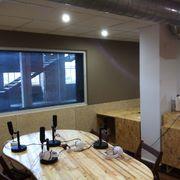Acondicionamiento acústico de sala de radio para Lahuella creative studios