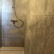 vista general zona ducha