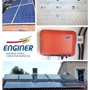 Instalación fotovoltaica para autoconsumo con monitorización