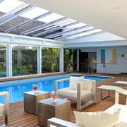 vista interior: piscina
