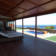 Vista porche exterior