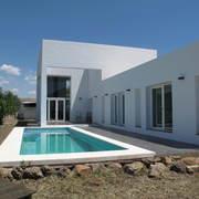 Vivienda el Hacho, arquitectura blanca