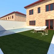 Diseño jardín meco