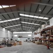 Instalación fábrica de muebles Atic Office en Beniparrell