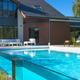 Casa para nadadora  proyecto piscina.