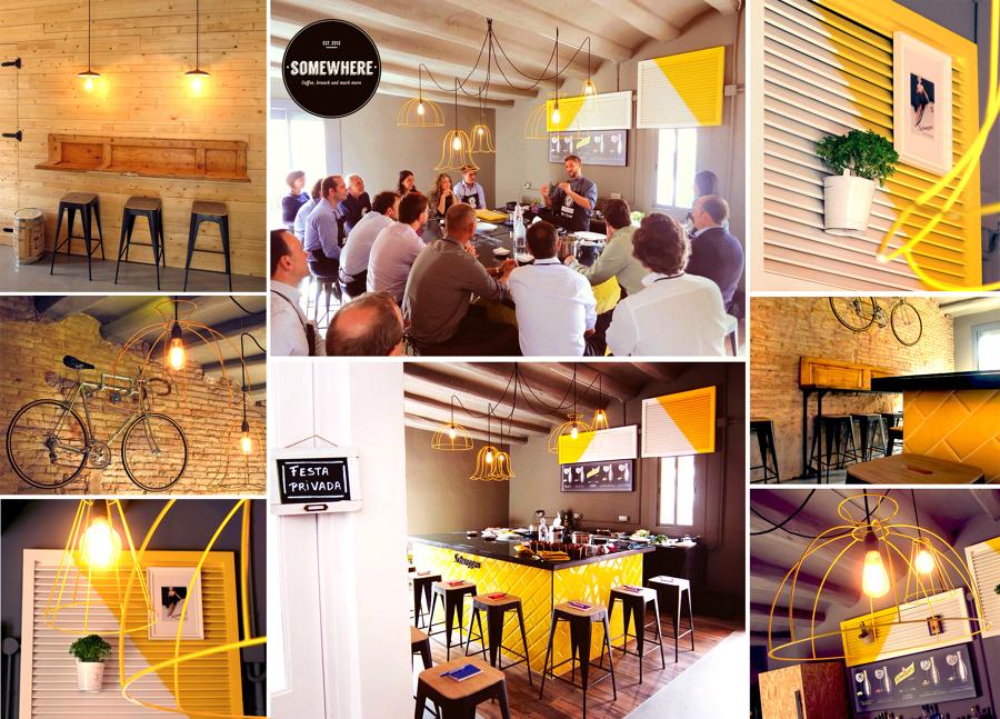 El clandest sala gastron mica ideas reformas locales - Restaurante sudeste alicante ...